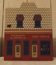 The Cats Meow 1987 Telegraph Office Post Office  - $8.99