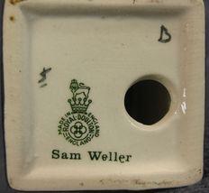 """Royal Doulton Dickens Miniature Sam Weller M48 4"""" Vintage Oliver Twist England image 6"""