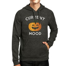 Pumpkin Current Mood Dark Grey Hoodie - $25.99+