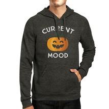 Pumpkin Current Mood Dark Grey Hoodie - $25.99+