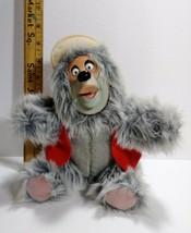"Vintage Disney World Big Al Bean Bag Plush Country Bear Jamboree Rubber Face 9"" - $23.36"