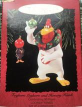 Hallmark Keepsakes Foghorn Leghorn And Henery Hawk Christmas Ornament 1996  - $17.81