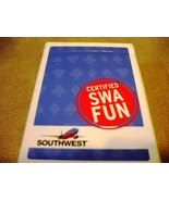 Southwest Airlines Playing Cards Deck with Coca Cola Bottle on Box - $5.00