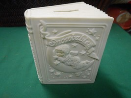 "Great Collectible Dept. 56 ""Winter Tales of the SNOWBABIES"" coin BANK - $19.39"