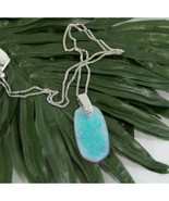 Kendra Scott Rhodiun Inez Amethyst Dichrotic Glass Long Pendant Necklace... - $83.66