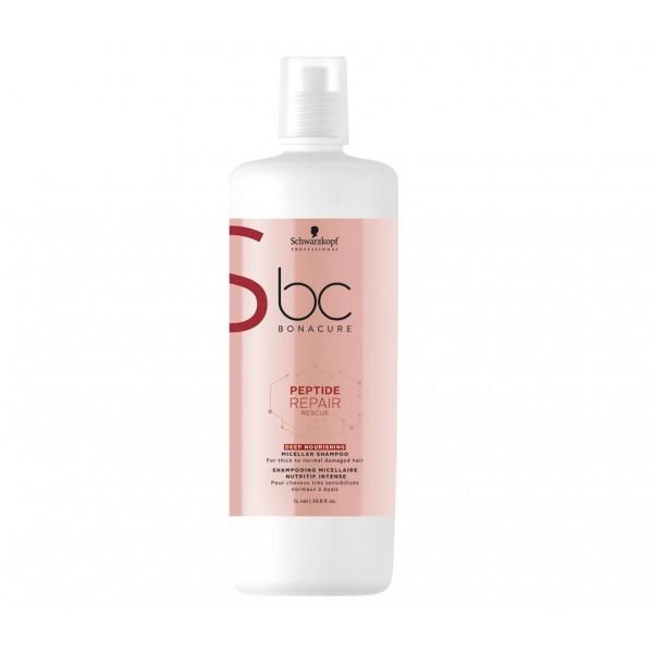 Schwarzkopf Professional Peptide Repair Rescue Deep Nourishing Micellar Shampoo