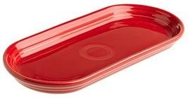 Fiesta 12-Inch by 5-3/4-Inch Bread Tray, Scarlet - $31.85
