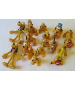 Big lot of 14 PLUTO dog PVC & vinyl Figures, Disney - $19.99