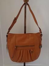 NWT Born Pebble  Leather Adjustable Buckle Strap Med. Size Handbag Msrp.... - $66.37