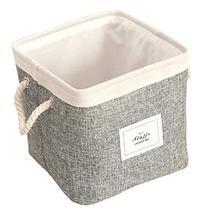 Black Temptation Foldable Laundry Basket Household Storage Organizers St... - £22.60 GBP