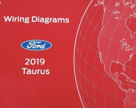 2019 Ford TAURUS Wiring Electrical Diagram Manual ETM EWD OEM EWD 2019 - $49.45