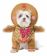 California Costume Collections Gingerbread Pup Dog Costume, Small - $17.82