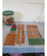 Lincoln Logs 100th Anniversary Tin Toy All Wood Educational Toy America'... - $44.60