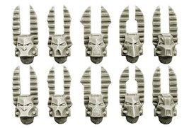Spellcrow 28mm Sci-Fi - Changed Legions: Changed Knight Helmets
