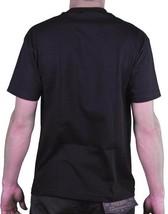 Famous Stars & Straps Herren Schwarz Letzte Anruf Neon Zeichen Boh T-Shirt image 2