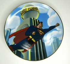 Warner Brothers Gallery 1997 Superman Flying Plate MIB WBSS Studio Store #813 - $46.17
