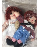 Rare Raggedy Ann And Andy Doll Set - Johnny Gruelle  Georgene Novelties ... - $152.95