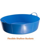 Flexible Feed Buckets Garden Kids Small Sand Ball Pit Pet Pool Water Tub... - $23.62