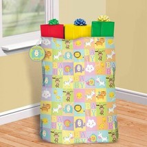 Giant Baby Shower Gift Bag, Tag, Tie 44 x 36 Plastic Sack - $7.91