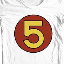 Mach 5 Speed Racer T-shirt retro 1970s Saturday cartoon 100% cotton tee SPD114 image 1