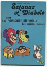 1973 Hanna Barbera French Book Dastardly Muttley Satanas Pigeon 2 Wacky ... - $11.99
