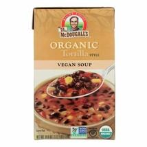 Dr. Mcdougall's Organic Tortilla Soup - Case Of 6 - 18 Oz. - $36.97