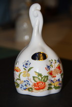 Fine Bone China Aynsley floral bell butterfly, COTTAGE GARDEN, made in E... - $14.99