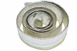 "Heat Sheath Aluminized Sleeving Heat Shield Protection Barrier 1/2"" x 36"" (3ft) image 3"