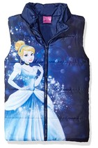 Disney Girls Elsa Puffer Vest ,  Blue, Size 2T - $25.74