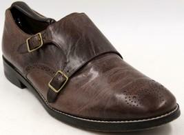Cole Haan Cambridge Double Monk Strap Men's Chestnut Leather Shoes Sz 10 M - $80.74