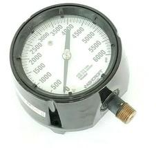 ASHCROFT 0-6000PSI PRESSURE GAUGE 238A679-01 REV. A image 1