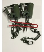 2 Powder Coated FPS DP Dog Proof Coon Traps & DP Setter Trap Raccoon NEW... - $29.71