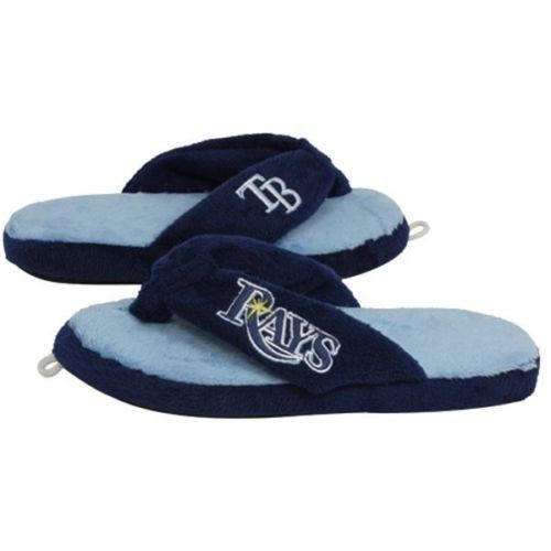 Tampa Bay Rays Slippers Adult Men's Women's Thong House Shoes MLB Baseball