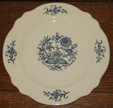"""Vintage Homer Laughlin Imperial Blue Dresden 6 3/8"""" Salad Plate Replacement - $18.81"""