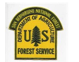 San Bernardino National Forest US Forest Service USFS San Bernardino Cou... - $9.99
