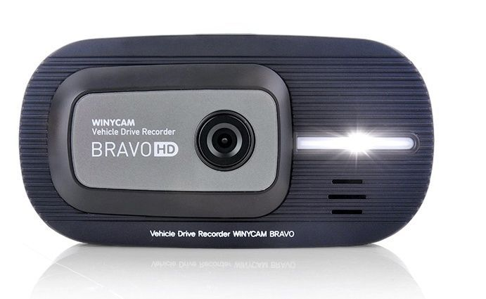 Winycan Bravo 2CH Dual Dashcam Car camera HD LCD Dash Cam Livue LB300L