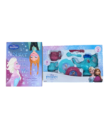 Disney FROZEN Tea Set for 2 with Sister Reading Book Playset 8 Pieces Bl... - $24.95
