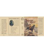 Burroughs, Edgar Rice. THE MOON MAID facsimile dust jacket  1st Grosset ... - $21.56