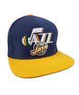 Utah Jazz Snapback Two Tone Hat Cap Adidas NBA Wool Blend Embroidered Tw... - $23.99