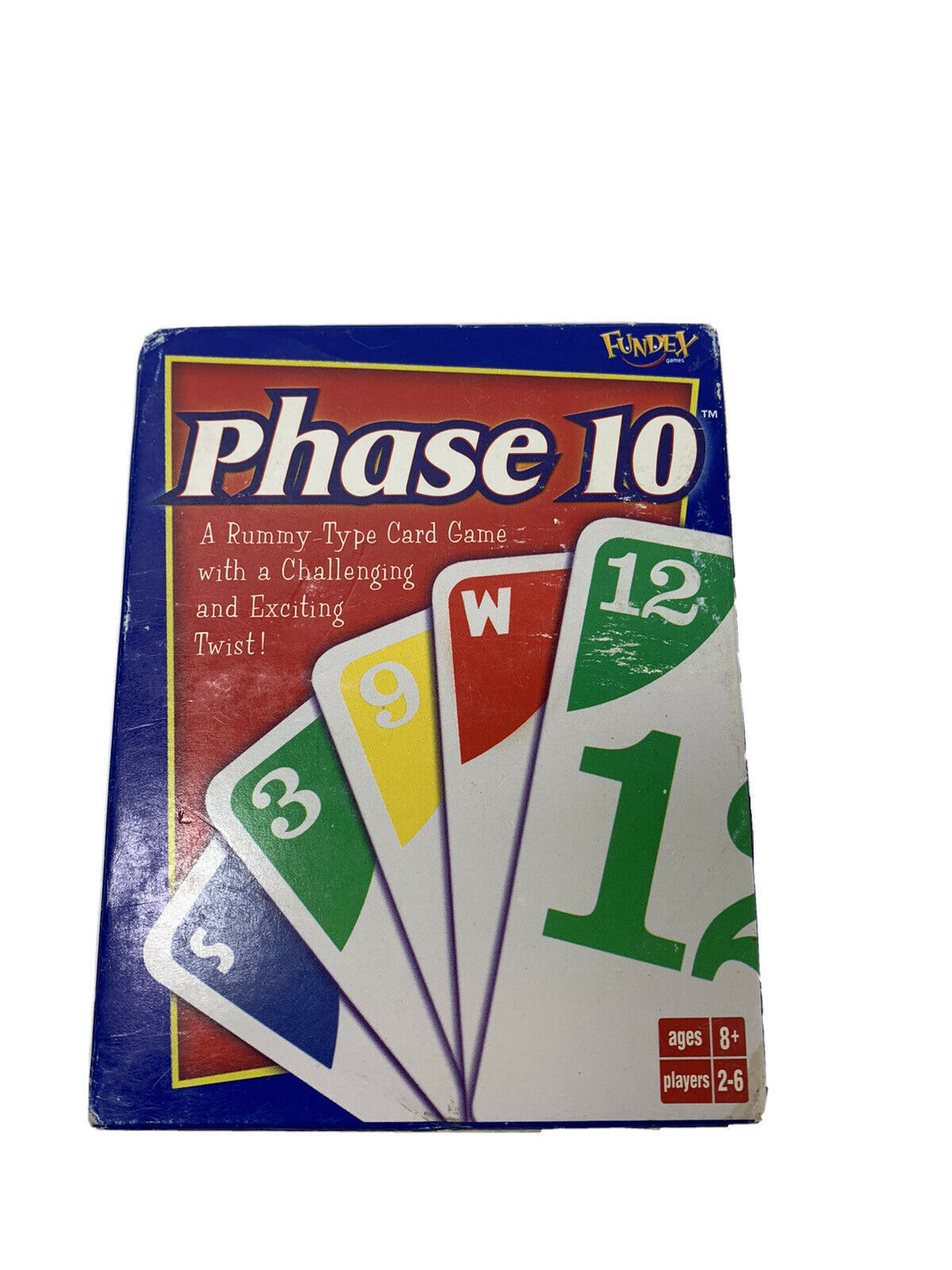 Phase 10 Card Game Family Friends age 8+ Rummy Game New Sealed Deck. Such fun! - $4.22