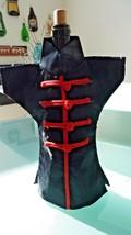Handmade Brocade Asian Dress - Geisha Kimono Wine Bottle Cover - Black w... - $173,27 MXN