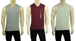 NEW MENS TOMMY HILFIGER V NECK PIMA COTTON SWEATER VEST - $22.99
