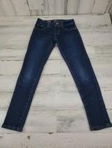 Girls Arizona Jean Co Size 8 Regular Blue Jean Jegging Denim Legging - $9.69