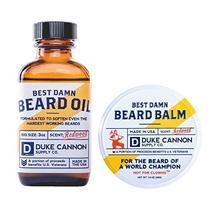 Duke Cannon Beard Bundle: Best Beard Oil, 3oz + Beard Balm, 1.6oz / Made with Na image 11