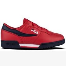 Fila Original Fitness Boy 3VF80105-640 Red Leather Junior Shoes - €45,02 EUR