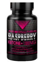 Absonutrix Raspberry Ketone 1000mg 60 veg caps weight management helps burn fat - $12.99