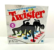 Twister Dance Party Game Classic With 2 New Moves For 2 + Players Hasbro... - $10.99