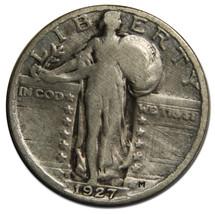 1927S STANDING LIBERTY QUARTER 25¢ Coin Lot# MZ 3869