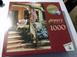 "Wrebbit Perfalock 1000 piece Puzzle ""Victorian Memories"" Paul Landry NEW SEALED - $22.27"