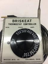 Heavy Duty BRISKEAT Thermostat Controller Mod.# TS94-5 -- 200°-500° Range - $59.39